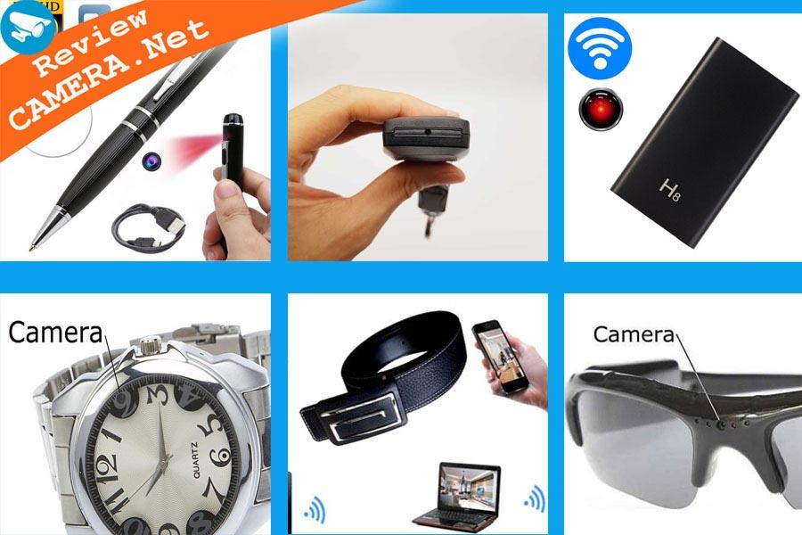Các loại camera giấu kín