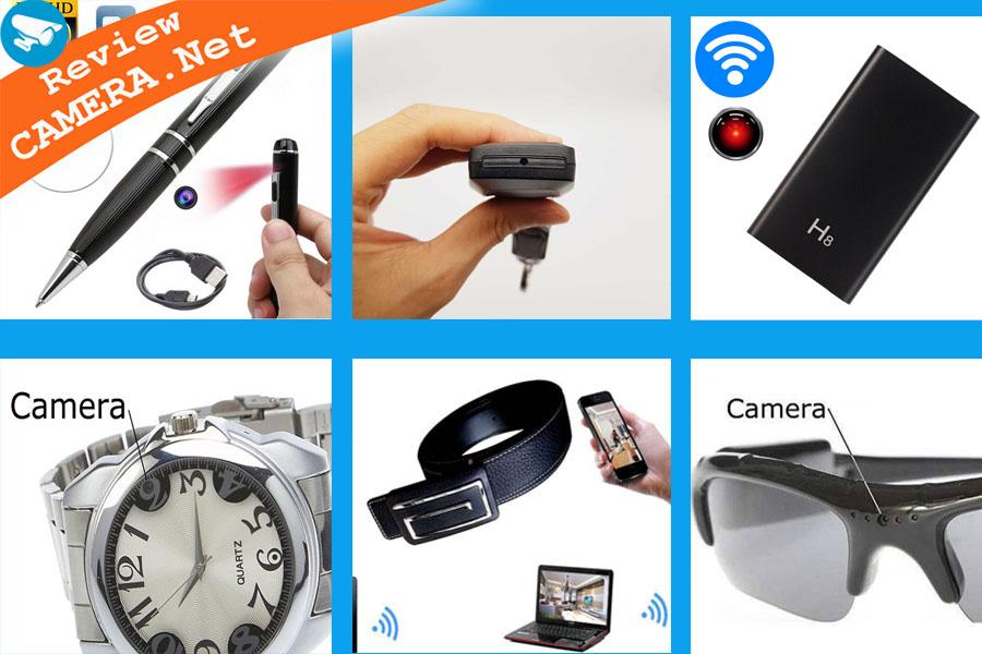 Các loại camera ngụy trang