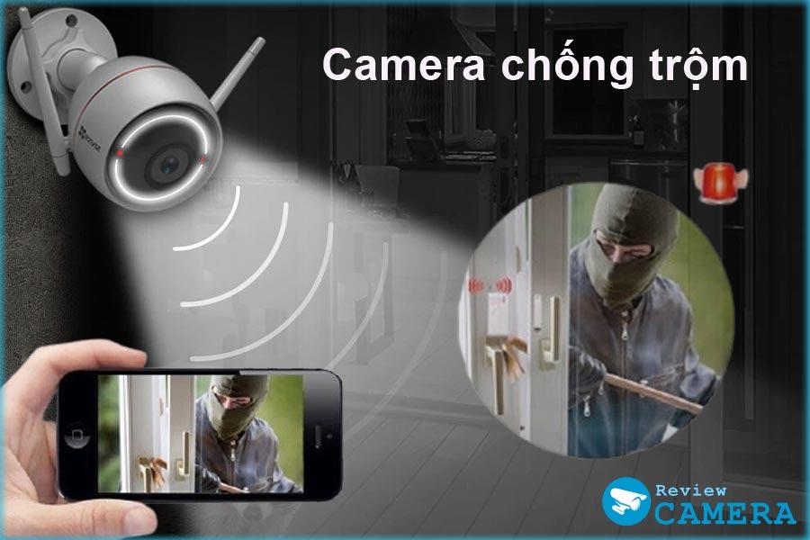 Camera như thế nào mới thực sự chống được trộm?