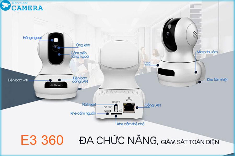 Camera Ebitcam E3