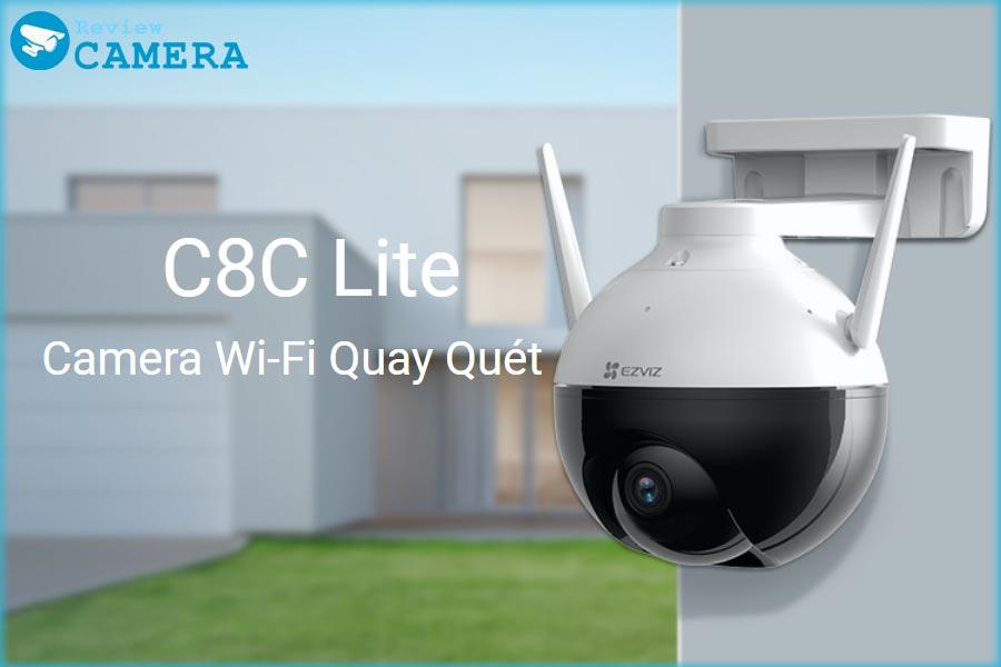 Review Camera Ezviz C8C Lite - Camera xoay 360 độ ngoài trời giá rẻ nhất
