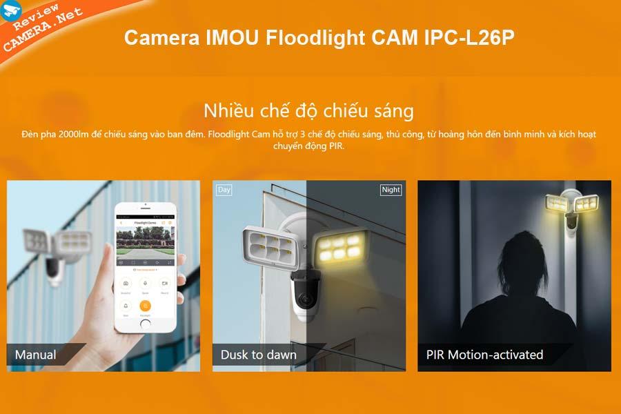 Camera IMOU Floodlight CAM IPC-L26P