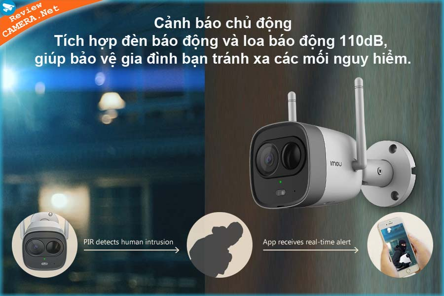 Camera IMOU New Bullet IPC-G26EP