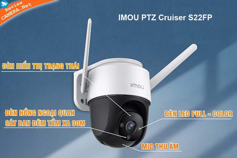 Camera IMOU PTZ Cruiser S22FP