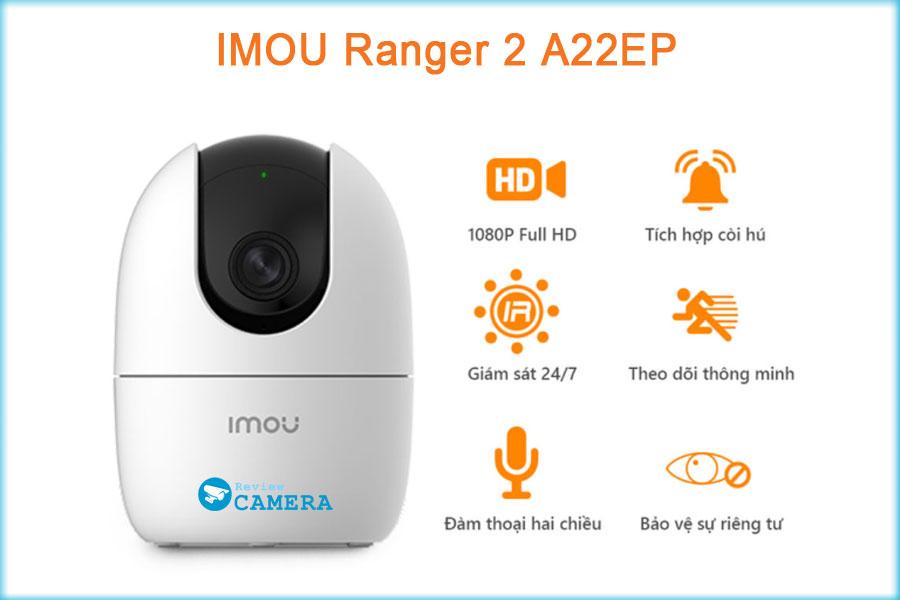 Đánh giá chi tiết Camera IMOU Ranger 2 A22EP - Giá rẻ chất lượng cao