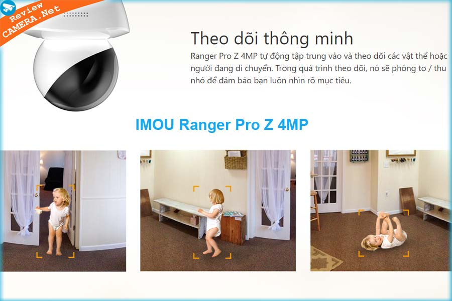 Camera IMOU Ranger Pro Z 4MP