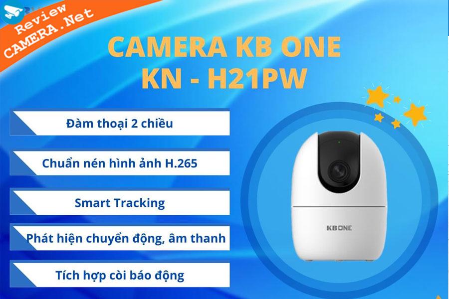 Camera KBone KN-H21PW - Dòng Camera wifi All in one giá rẻ tốt nhất hiện nay