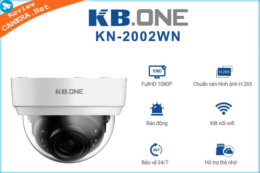 Review Camera Wifi KBone KN-2002WN - chất lượng ghi hình tốt và tích hợp còi báo động
