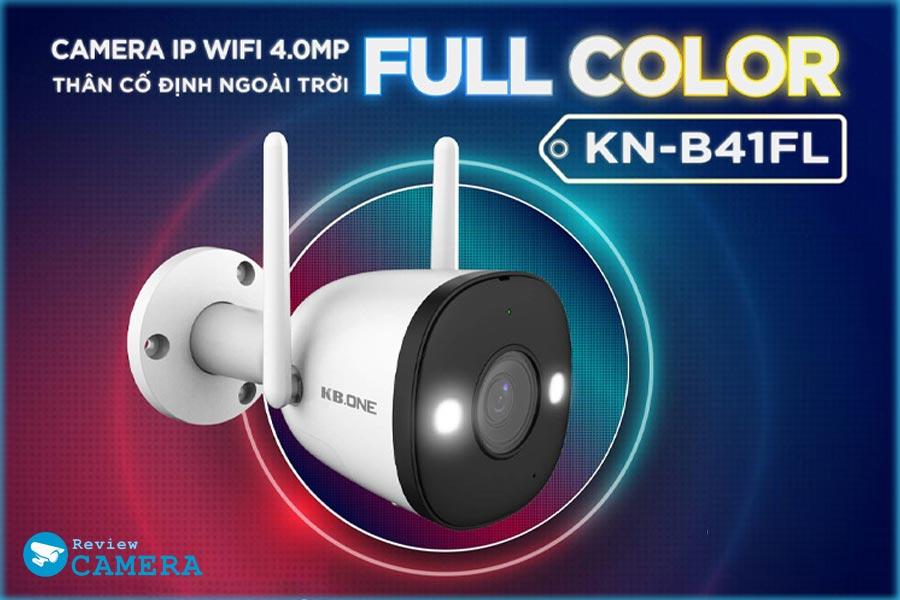 Review Camera KBONE KN-B41FL - Cảnh báo chủ động, độ phân giải 4Mpx