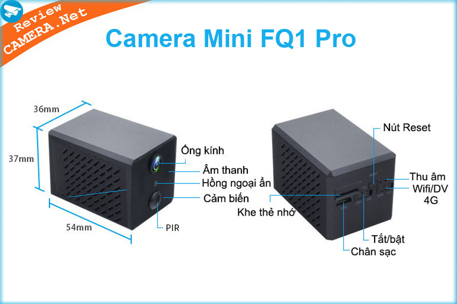 Camera mini FQ1 Pro