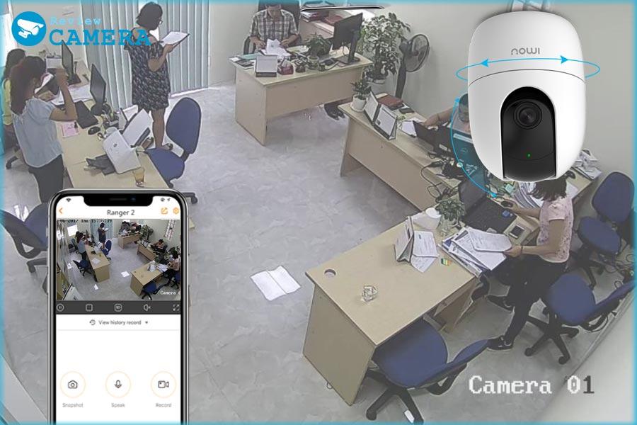Tư vấn mua Camera Wifi phù hợp lắp đặt cho văn phòng và công ty