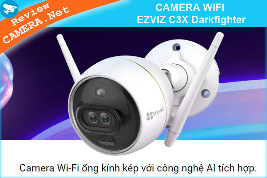 CAMERA WIFI EZVIZ C3X Darkfighter