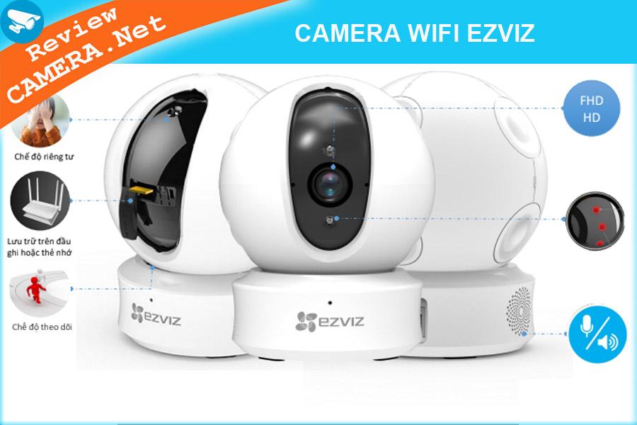 Camera wifi Ezviz có gì đặc biệt. Cùng tìm hiểu những tính năng thông minh và cao cấp của camera Ezviz