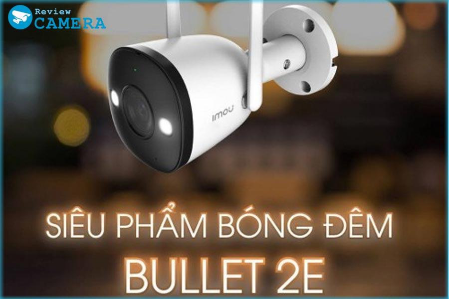 Camera wifi IMOU Bullet 2C F22FP - Xem đêm có màu sắc nét