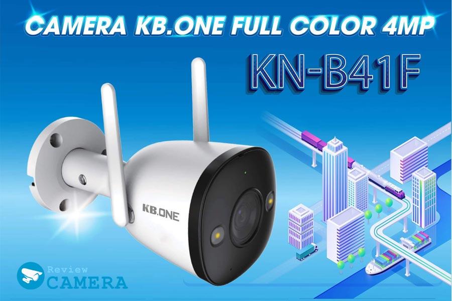 ReviewCamera KBONE KN-B41F - Độ phân giải 4Mpx siêu nét