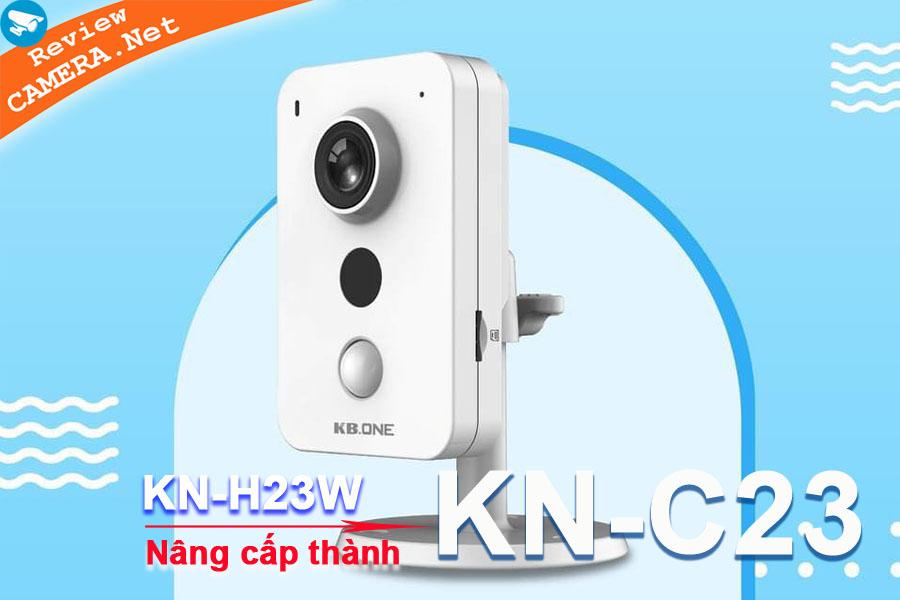 Review Camera Wifi KBone KN-H23W và KBone KN-C23 - Công nghệ cảm biến thân nhiệt hiện đại