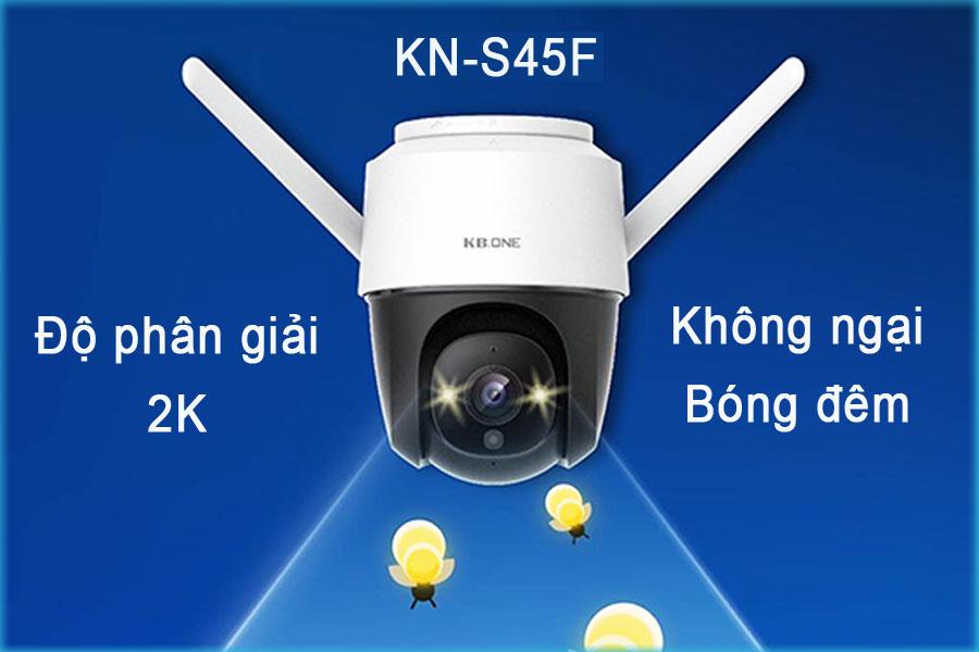 Bạn đã hiểu gì về Camera KBONEKN-S45F với độ phân giải 2K?