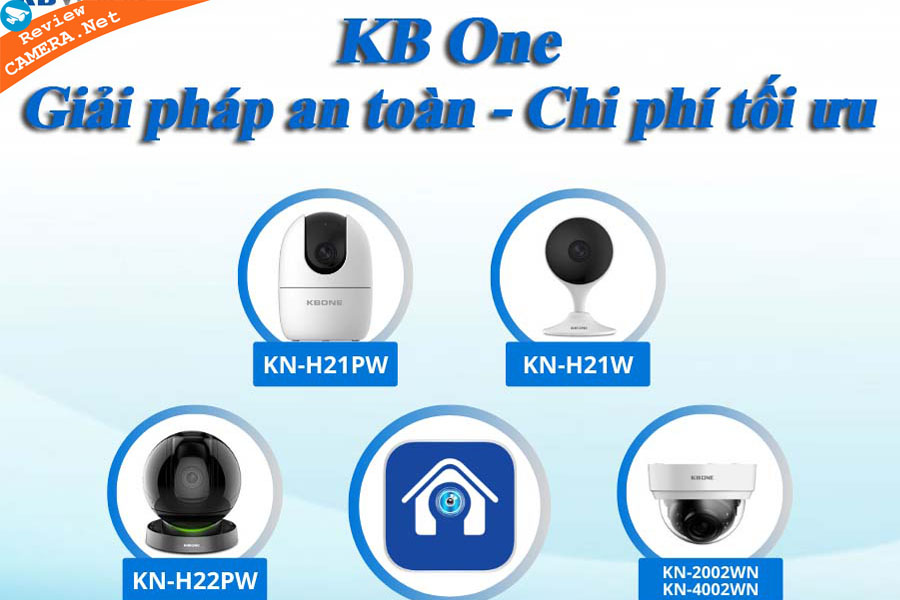 Camera wifi KBone Series của Kbvision có gì đặc biệt mà ai cũng muốn lựa chọn