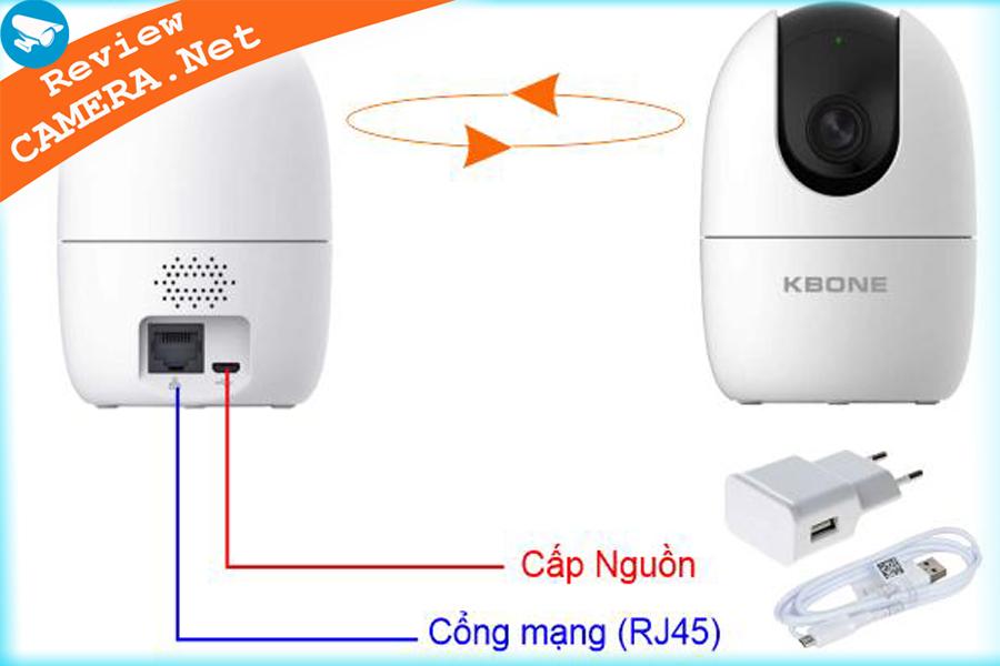 Camera wifi kbone kn-h21pw