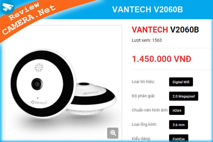 Camera wifi Vantech V2060B