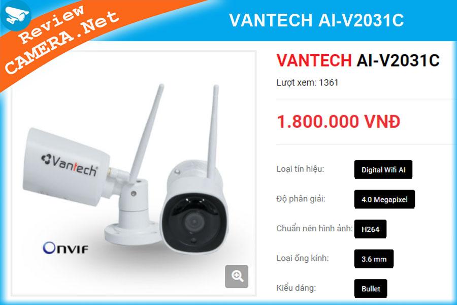Camera wifi Vantech AI V2031C