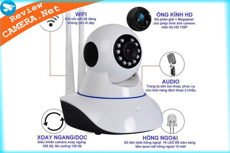 Camera wifi yoosee trong nhà