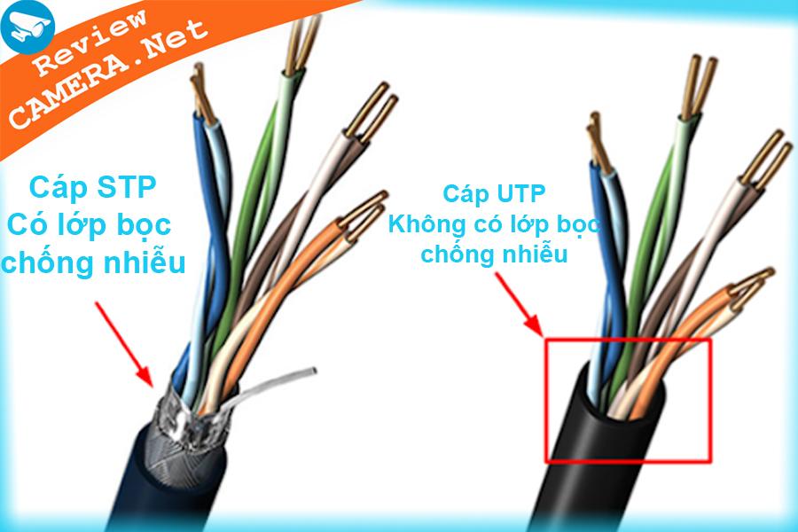 Cáp mạng UTP và STP