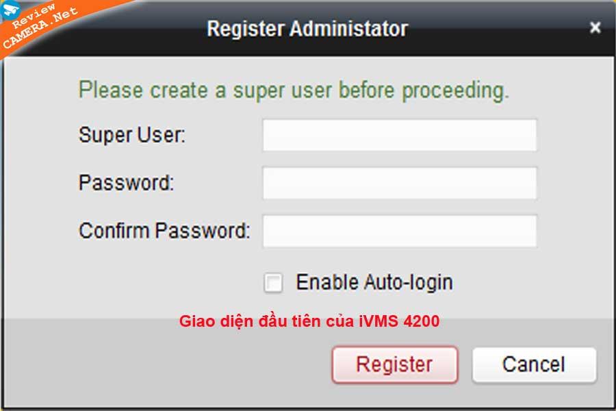 Phần mềm iVMS 4200