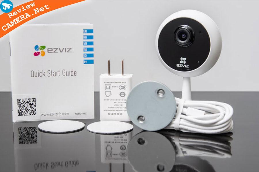 Đánh giá camera wifi ezviz c1c