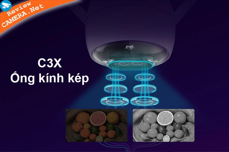 Ezviz-C3X ống kính kép