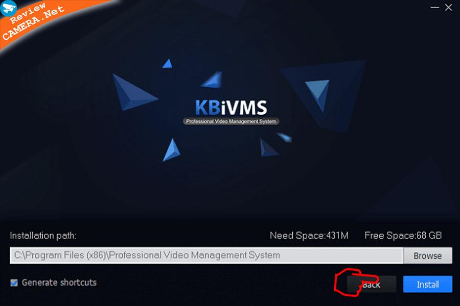 Cách cài đặt phần mềm KBiVMS xem camera KBVision trên máy tính