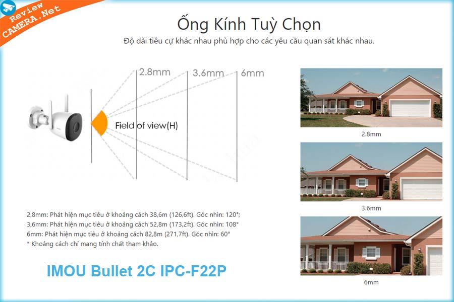 Camera Imou Bullet 2C IPC-F22P