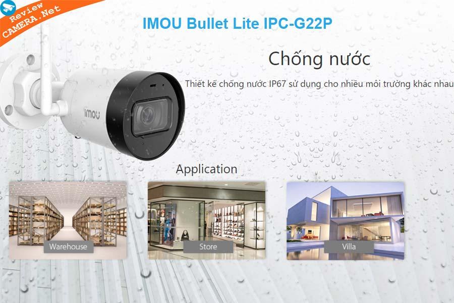 IMOU Bullet Lite IPC-G22P