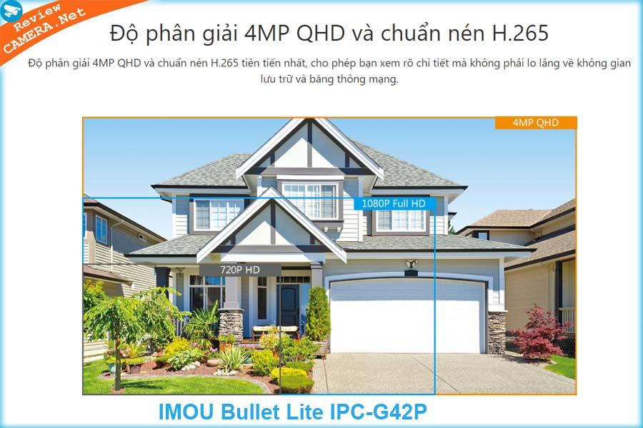 Camera Bullet Lite IPC-G42P