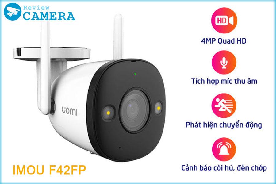 Review Camera IMOU F42FP có màu ban đêm với độ phân giải 2K siêu nét