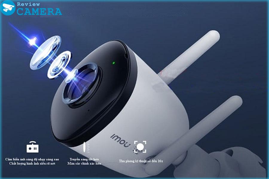 Review Camera IMOU IPC-F42P - Độ phân giải 4Mpx siêu nét