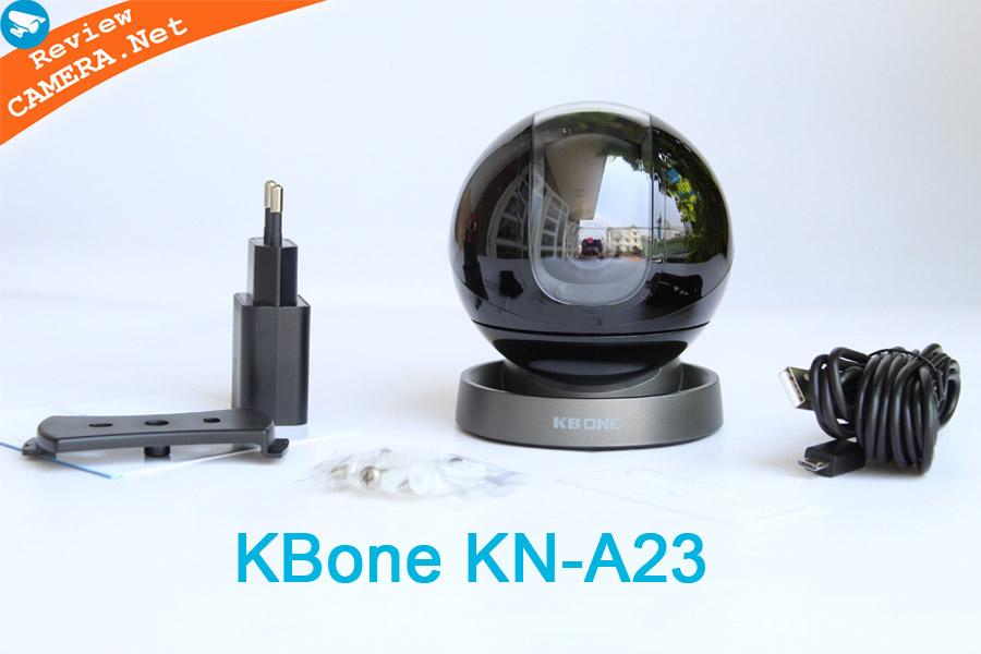 Review Camera wifi KBone KN-A23 - Sang trọng từng góc cạnh, nhiều tính năng thông minh