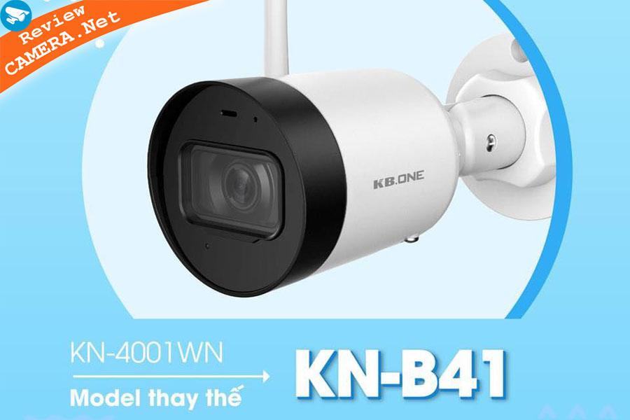 Review Camera wifi KBone KN-B41 - Độ phân giải cao, hình ảnh sắc nét