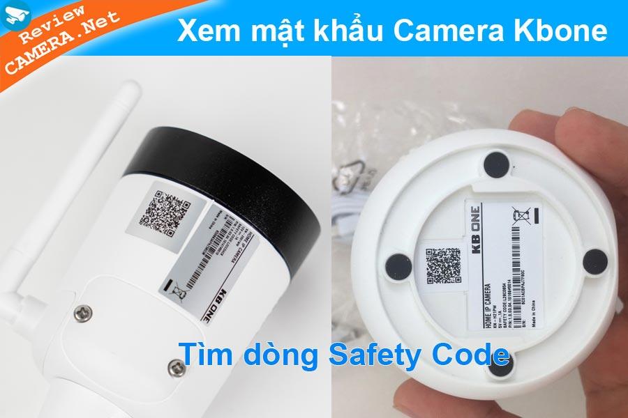 mật khẩu camera kbone