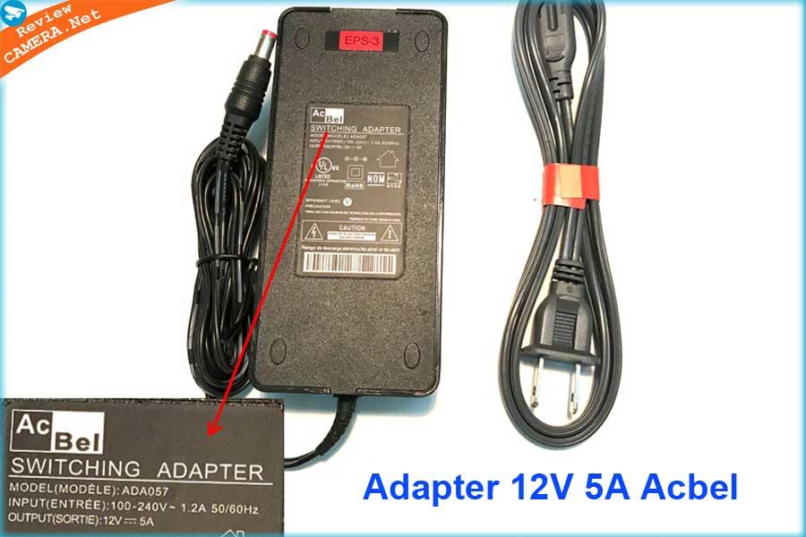 Adapter acbel 12v 5A