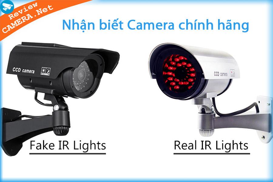 Giúp bạn nhận biết camera hàng nhái và camera chính hãng