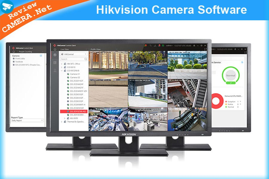 Tất cả phần mềm chuyên dụng cần thiết cho camera Hikvision