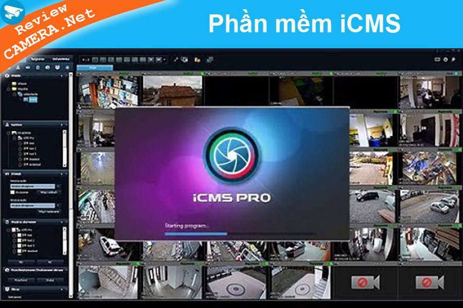 Phần mềm iCMS xem camera trên máy tính