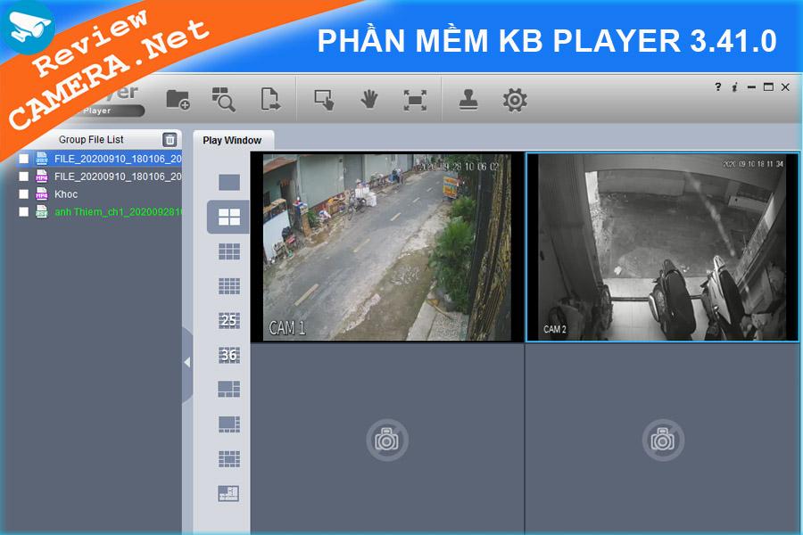 Phần mềm KB Player 3.41.0