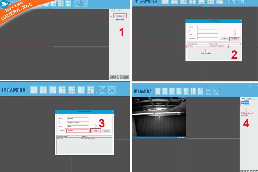 Phần mềm p2pwificam cho pc