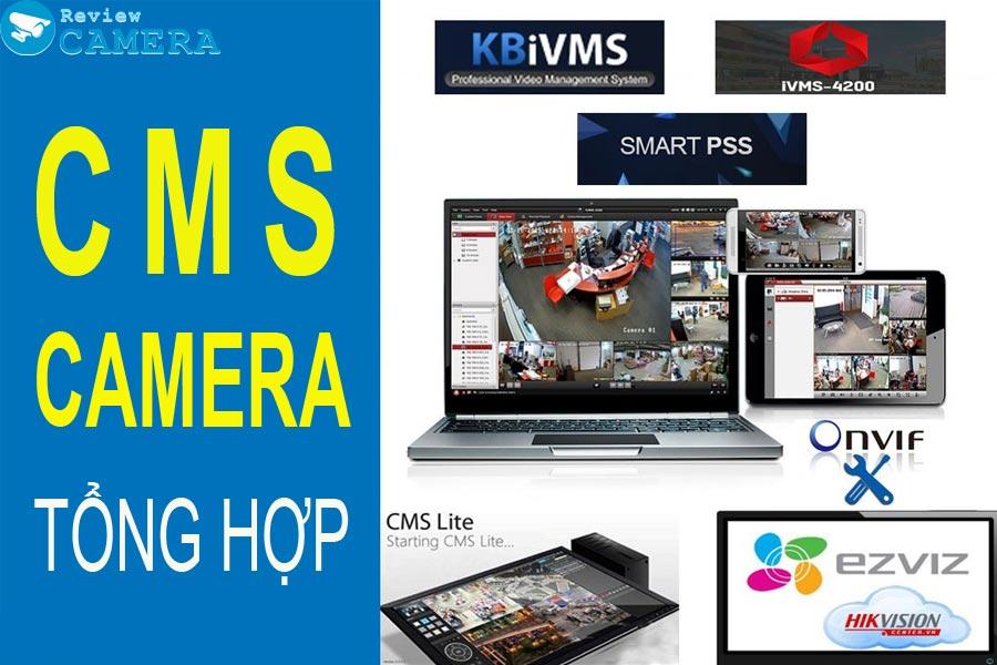Tổng hợp tất cả các phần mềm xem camera các hãng trên điện thoại và máy tính