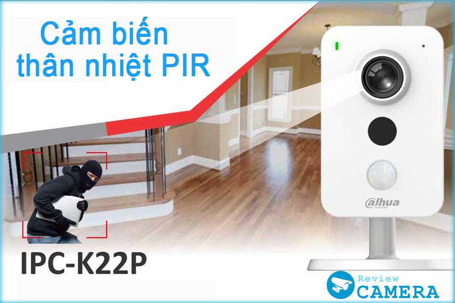 Review Camera IMOU Cube K22P - Bất ngờ với công nghệ cảm biến hồng ngoại PIR