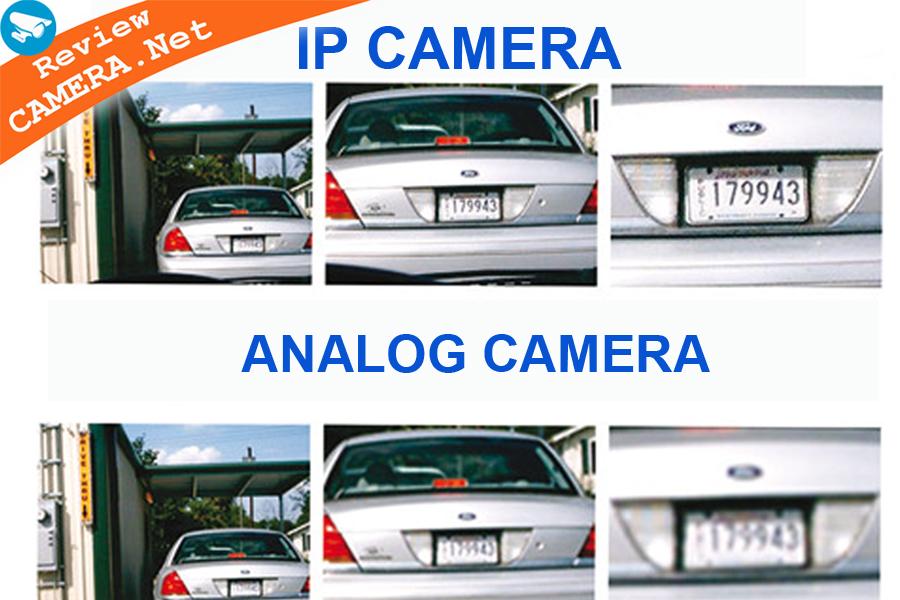 So sánh  camera ip và camera analog