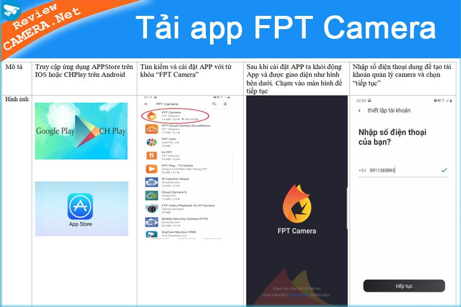 Tải app FPT Camera