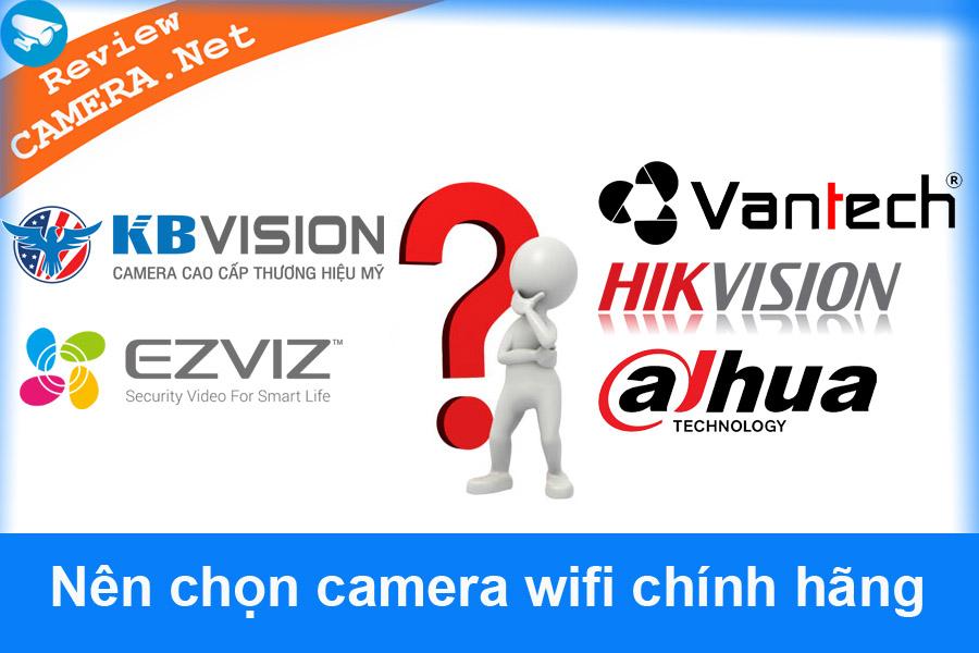 Top 5 thương hiệu camera wifi bạn nên dùng